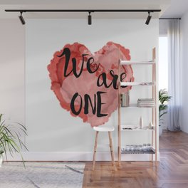 We Are One -Global Community Wall Mural