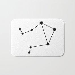 Libra Astrology Star Sign Minimal Bath Mat