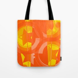 hoe is afraid of orange and yellow Tote Bag