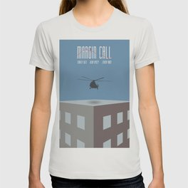 Margin Call, minimalist movie poster, Kevin Spacey, Stanley Tucci, Demi Moore T-shirt