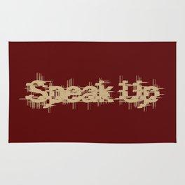 Speak Up Rug