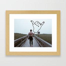 Ya Brah Framed Art Print