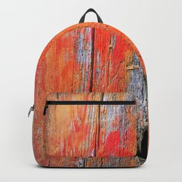 Weathered Wood Shutter rustic decor Backpack