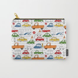 Busy Traffic Pattern Carry-All Pouch