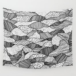 Broken Waves Wall Tapestry