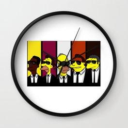 Reservoir Simpsons Wall Clock