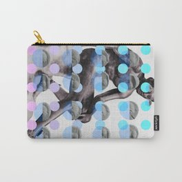 Statue With A Dot Gradient 2 Carry-All Pouch