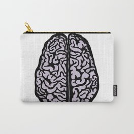 Brain (transparent) Carry-All Pouch