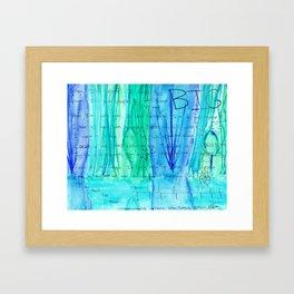 Where the Seeds Grow Framed Art Print