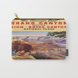 Vintage poster - Grand Canyon Carry-All Pouch