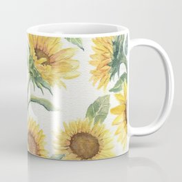 Blooming Sunflowers Coffee Mug