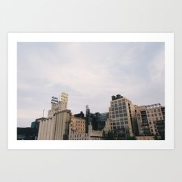 Minneapolis Architecture - Mill City Art Print