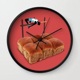 High Jump Wall Clock