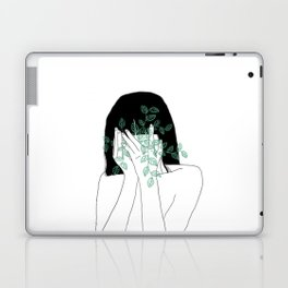 A little bit dissapointed in humanity / Illustration Laptop & iPad Skin