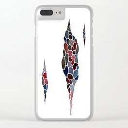 fissures (nomads) Clear iPhone Case