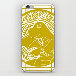 Stained Glass - Pokémon - Dragonite iPhone Skin