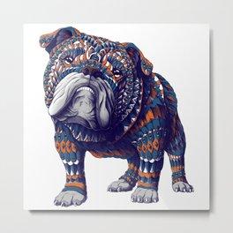 English Bulldog (Color Version) Metal Print