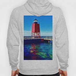 """Charlevoix Lighthouse Reflections"" Hoody"