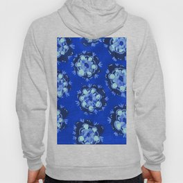 Blue Nevada Rose Hoody