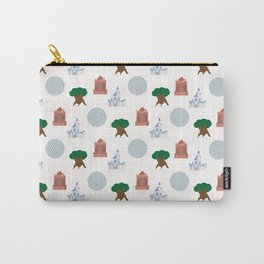 Iconic Theme Parks Carry-All Pouch