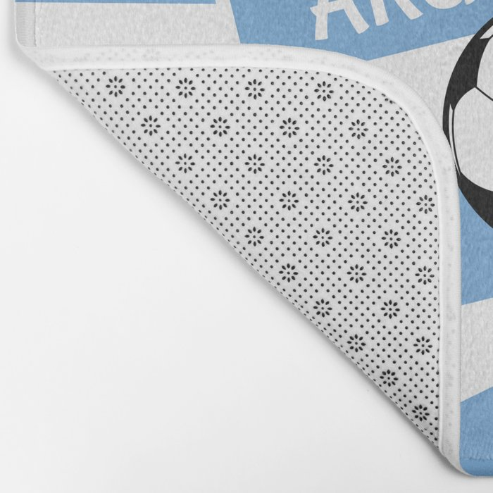 Argentina Football Bath Mat