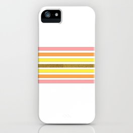 Lined in Pink iPhone Case