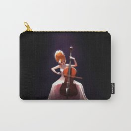 The Cello Player Carry-All Pouch