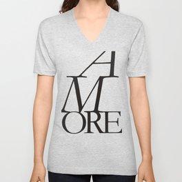 Amore II - Love #society6 #love #buyart Unisex V-Neck