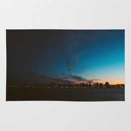 Halifax, Nova Scotia, Canada, skyline at sunset Rug