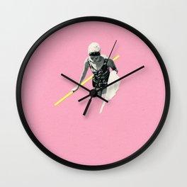 Evening Swim Wall Clock