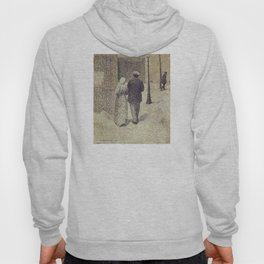 Charles Angrand - Man and Woman in the Street Hoody
