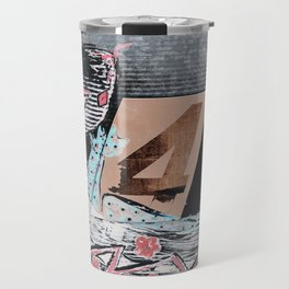 The Painted Lizard - Number Four Travel Mug