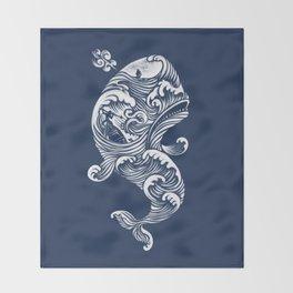 The White Whale  Throw Blanket