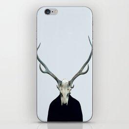 Living Skull and Horns iPhone Skin