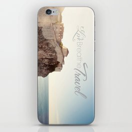 Live Breathe Travel - Dubrovnik, Croatia iPhone Skin