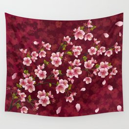 Cherry blossom #12 Wall Tapestry