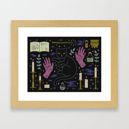 Spooky Horoscopes: Leo Framed Art Print
