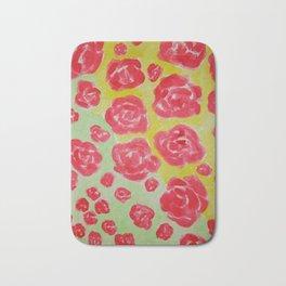 Rose Shower Bath Mat