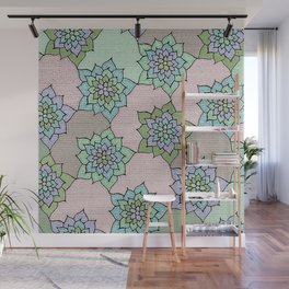 zakiaz lotus design Wall Mural