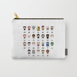 Doctor Who Alphabet Carry-All Pouch