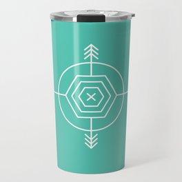 Native & modern geometric pattern 02 Travel Mug