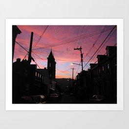 Euro Pittsburgh Art Print