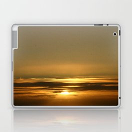 Layers of golden Sunsets Laptop & iPad Skin