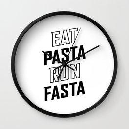 Eat Pasta Run Fasta v2 Wall Clock