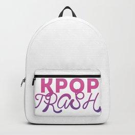 kpop trash Backpack