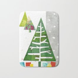 Oh Christmas Tree, oh Christmas Tree! Bath Mat