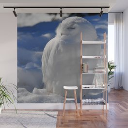 Snowy in the Snow by Teresa Thompson Wall Mural