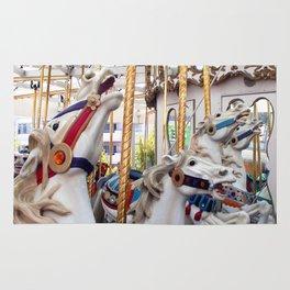Carousel horses 01 Rug
