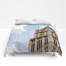 The Woolworth Building Comforters