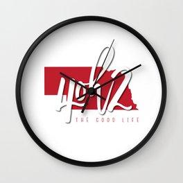 Nebraska - 4oh2 Wall Clock